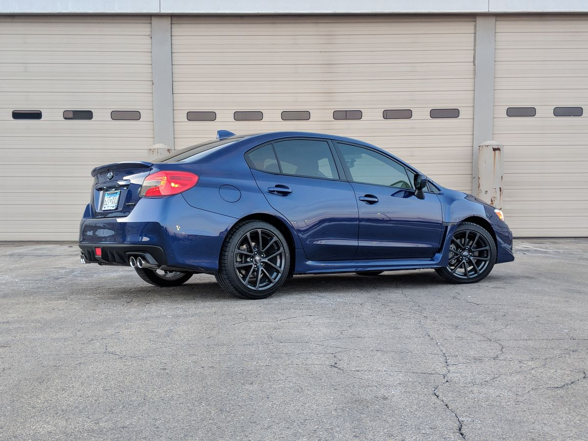 The WRX is an all-around excellent car