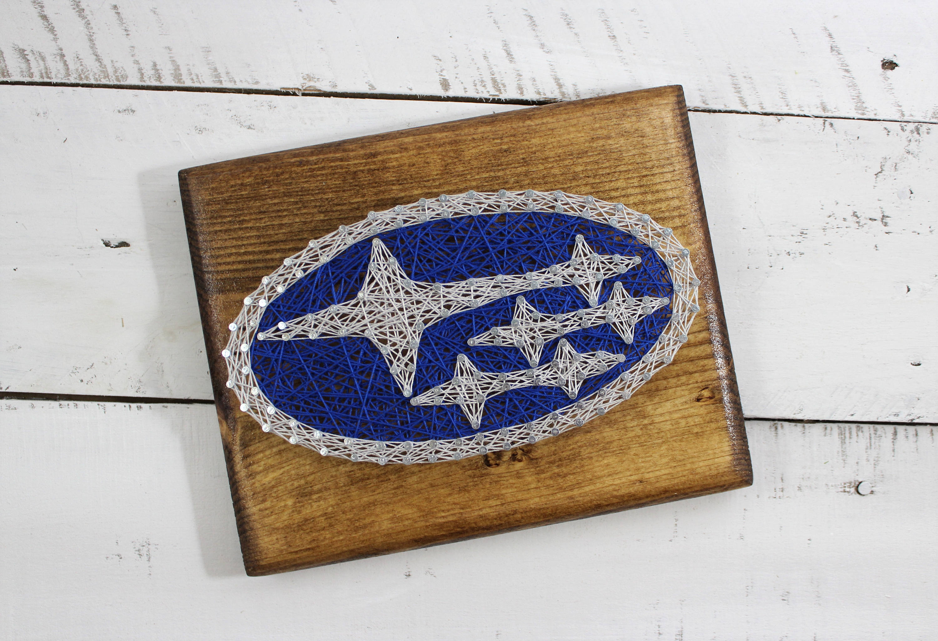 Subaru String Art