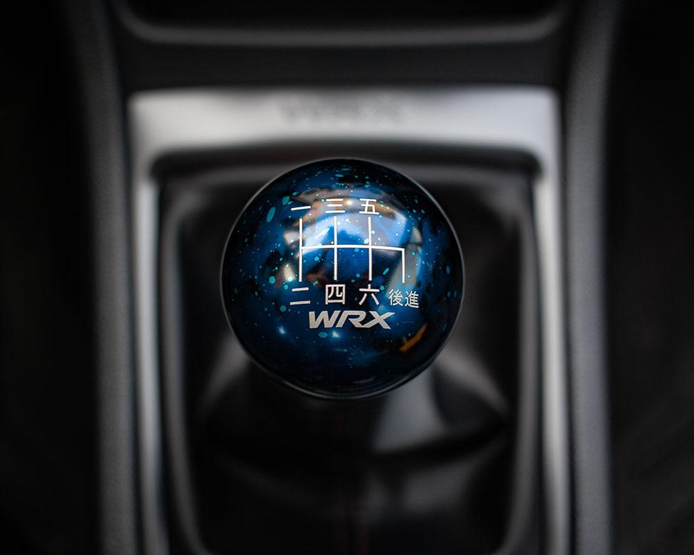 Billetworkz 6-speed WRX knob is a piece of art