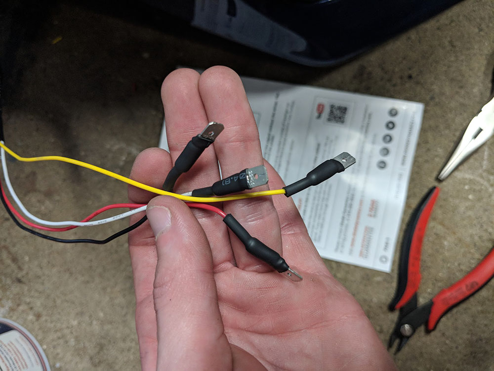 Rewiring the OEM connectors on the Diode Dynamics c-lights