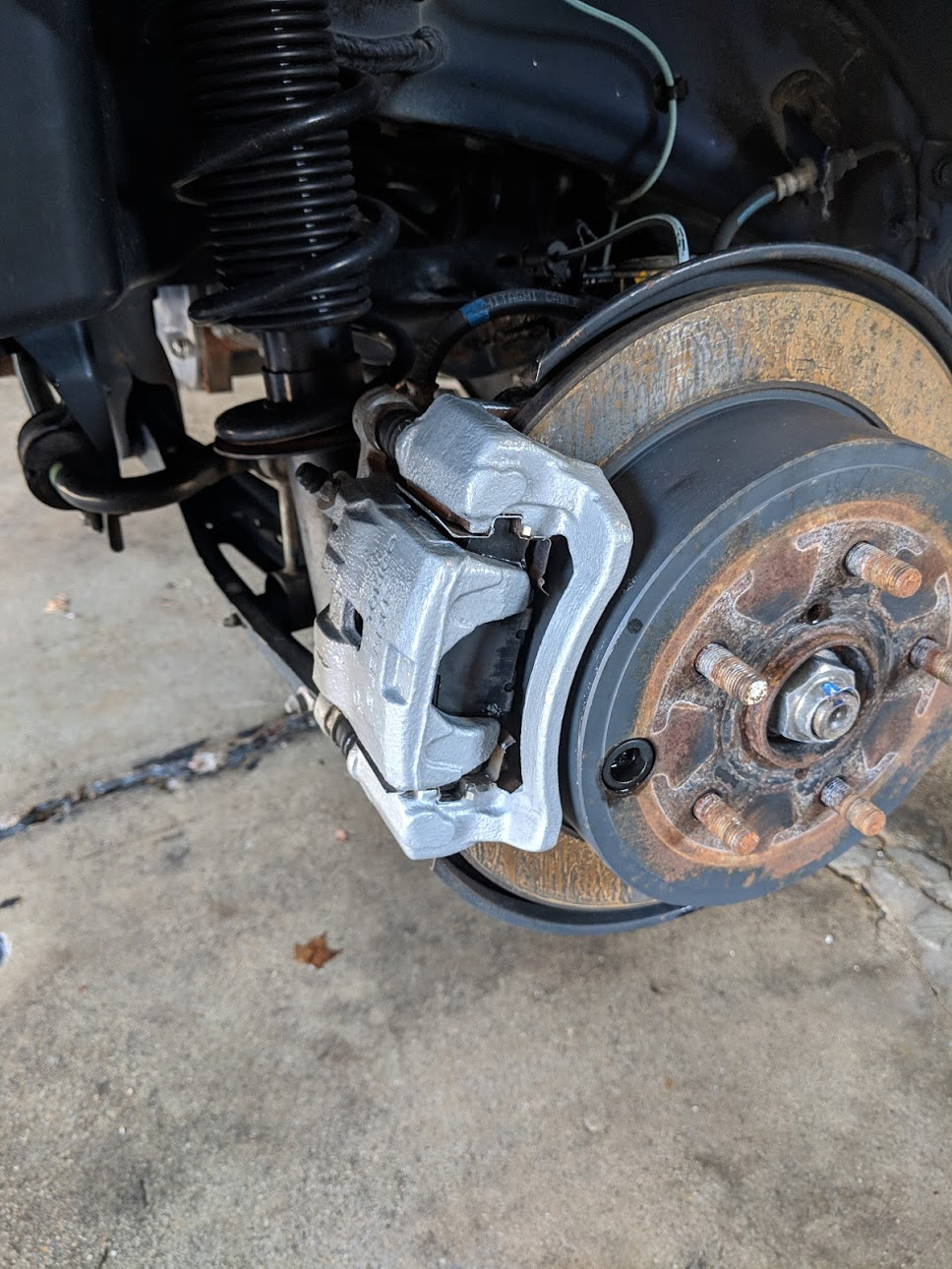 The DIY painted calipers