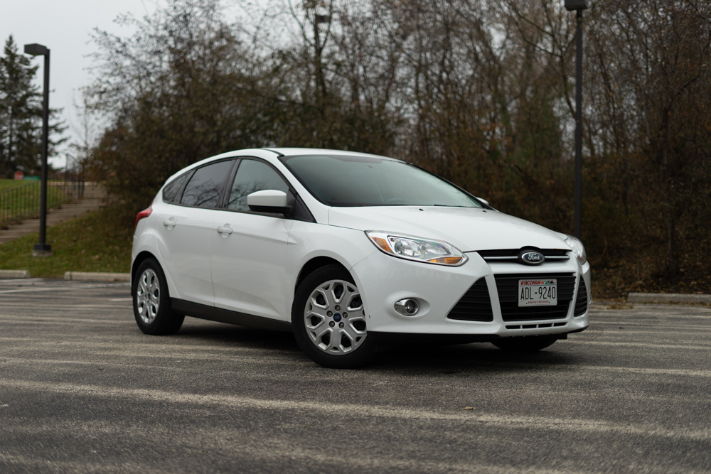 The 2012 Ford Focus in all its glory