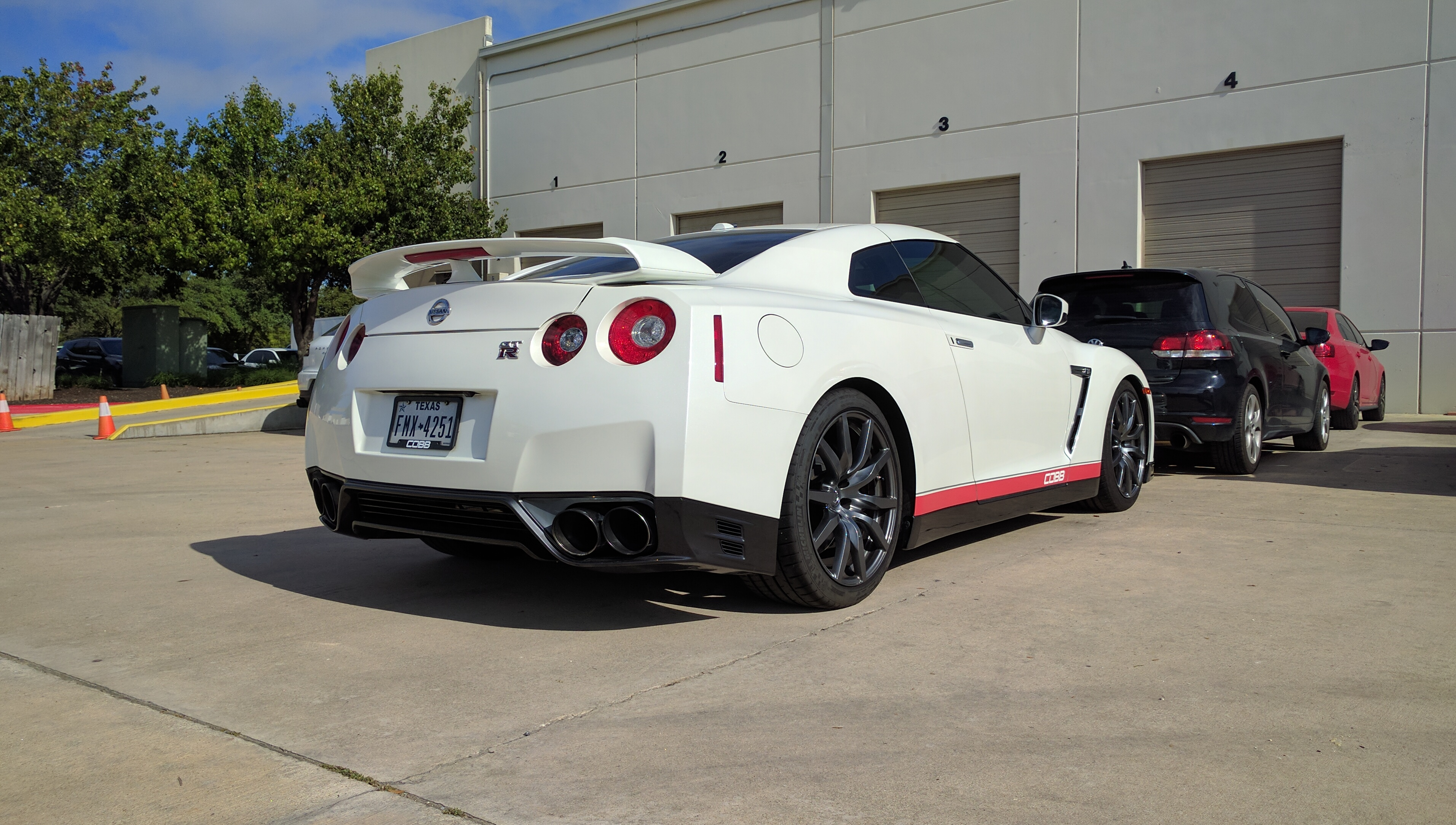 The COBB GTR at their Austin, TX HQ