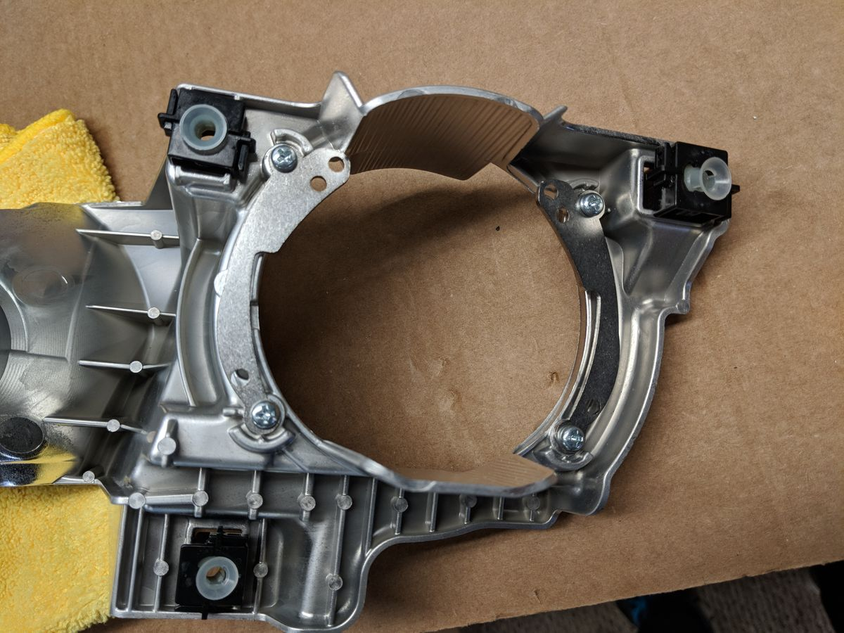 D2S brackets mounted