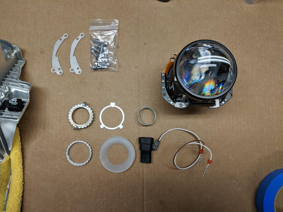 D2S projector parts