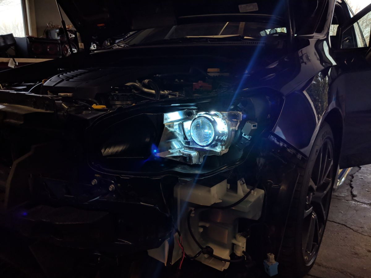 HIDs powered on for the first time!
