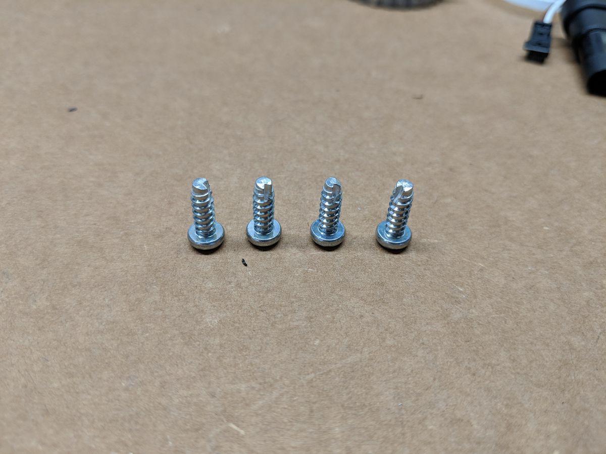 OEM projector screws