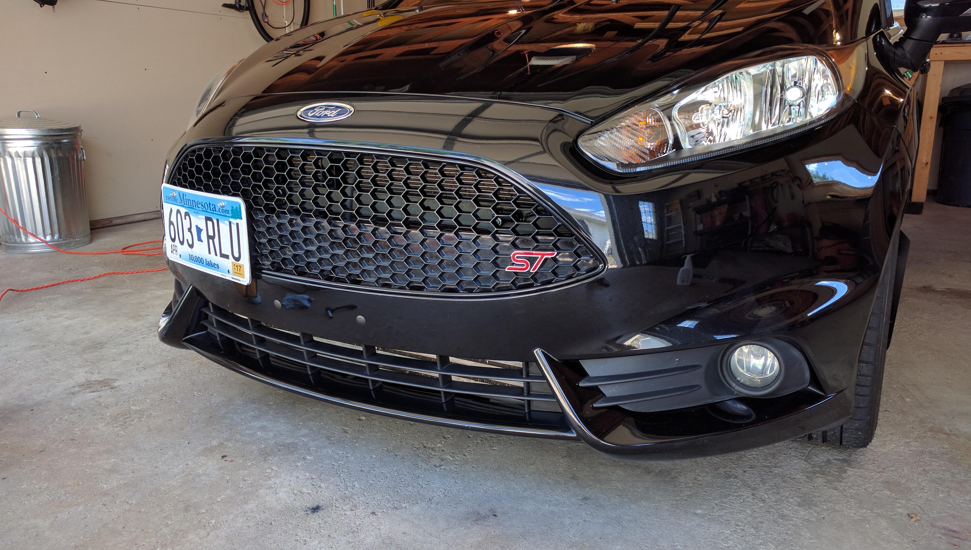 Fiesta ST front bumper