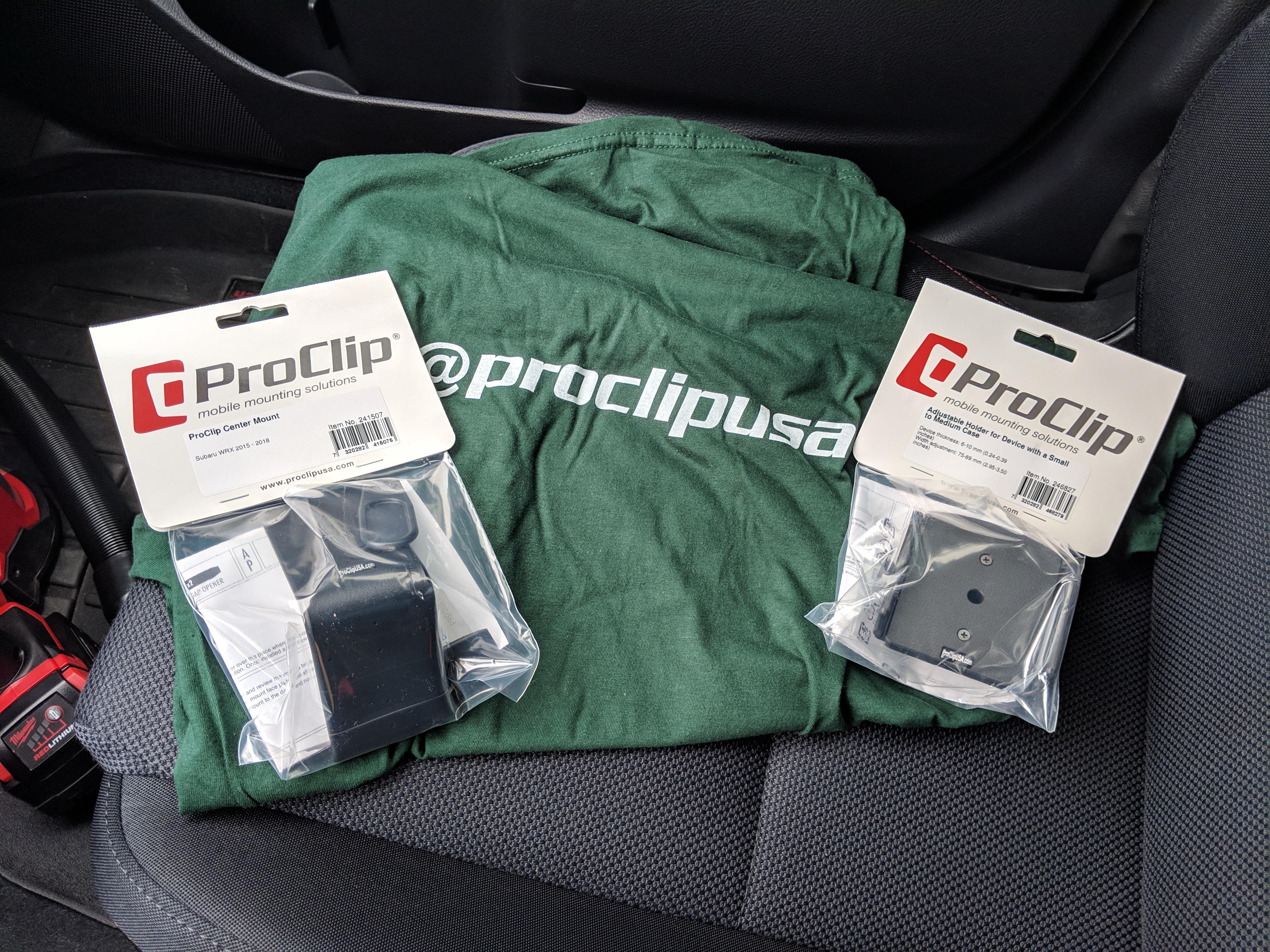 ProClip goodies