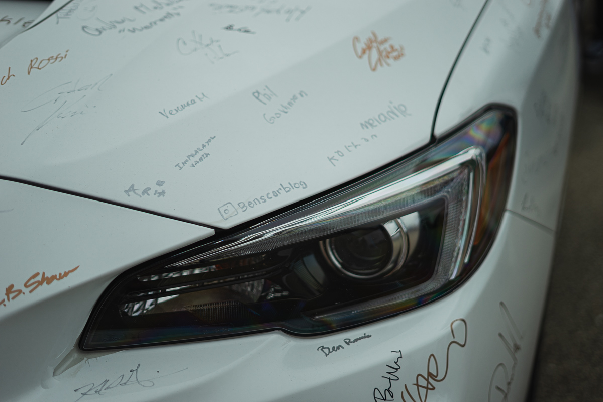 Ben's Car Blog signature