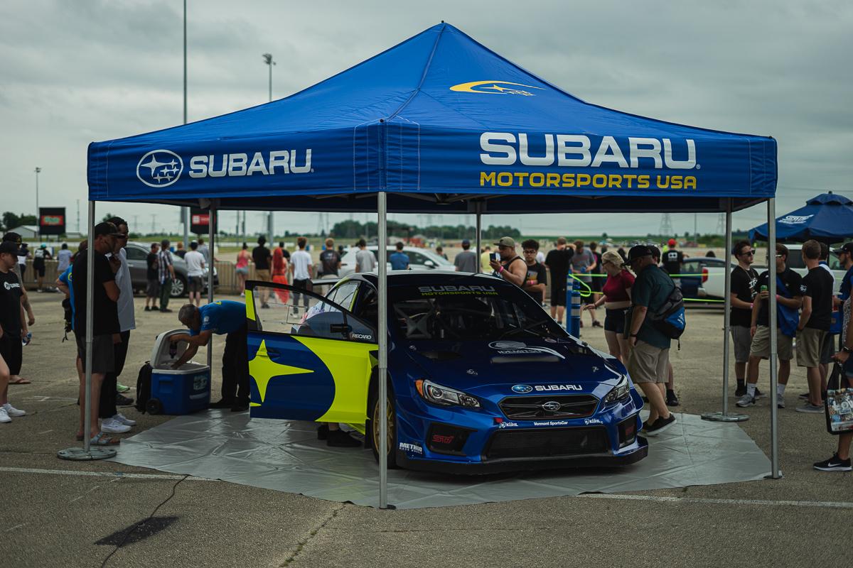 Subaru Rally Team's car
