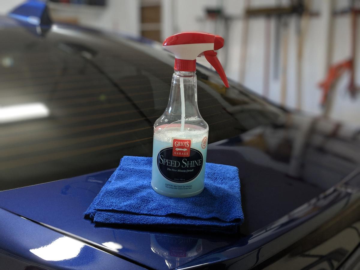 Griots Garage Speed Shine
