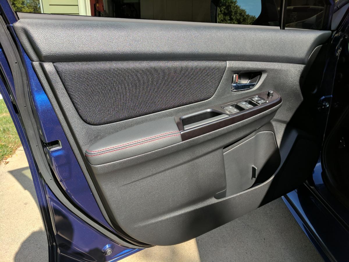 Driver's door panel