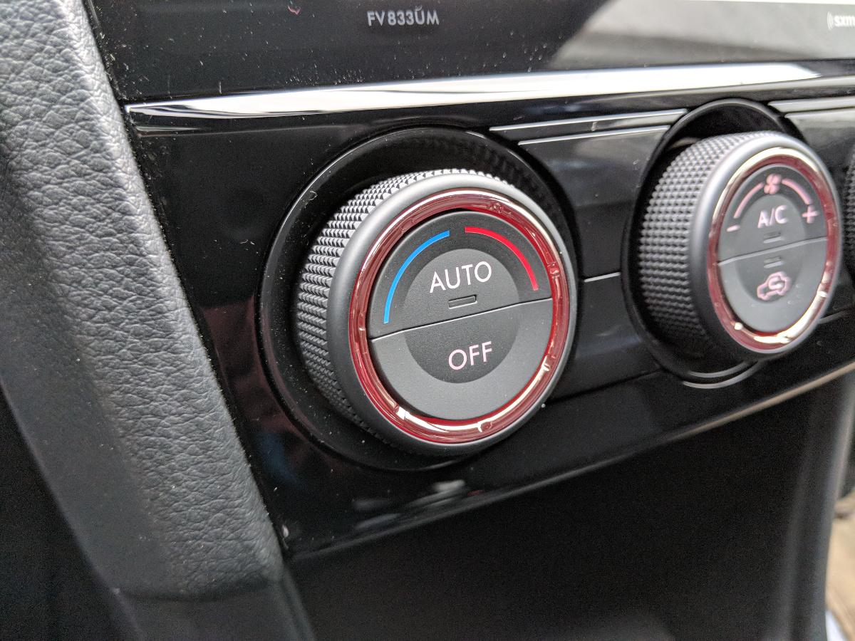 Updated HVAC knobs